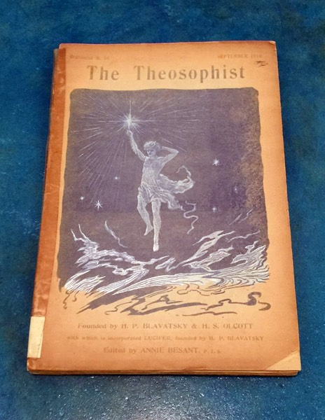 """The Theosophist"" Sept. 1910 Issue"